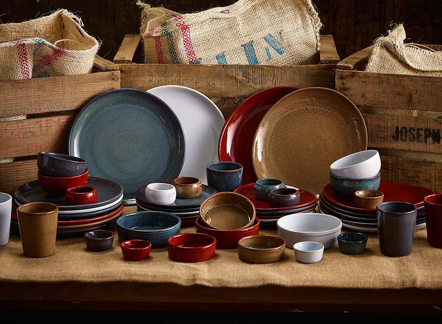 Rustic Stoneware Colour Combinations