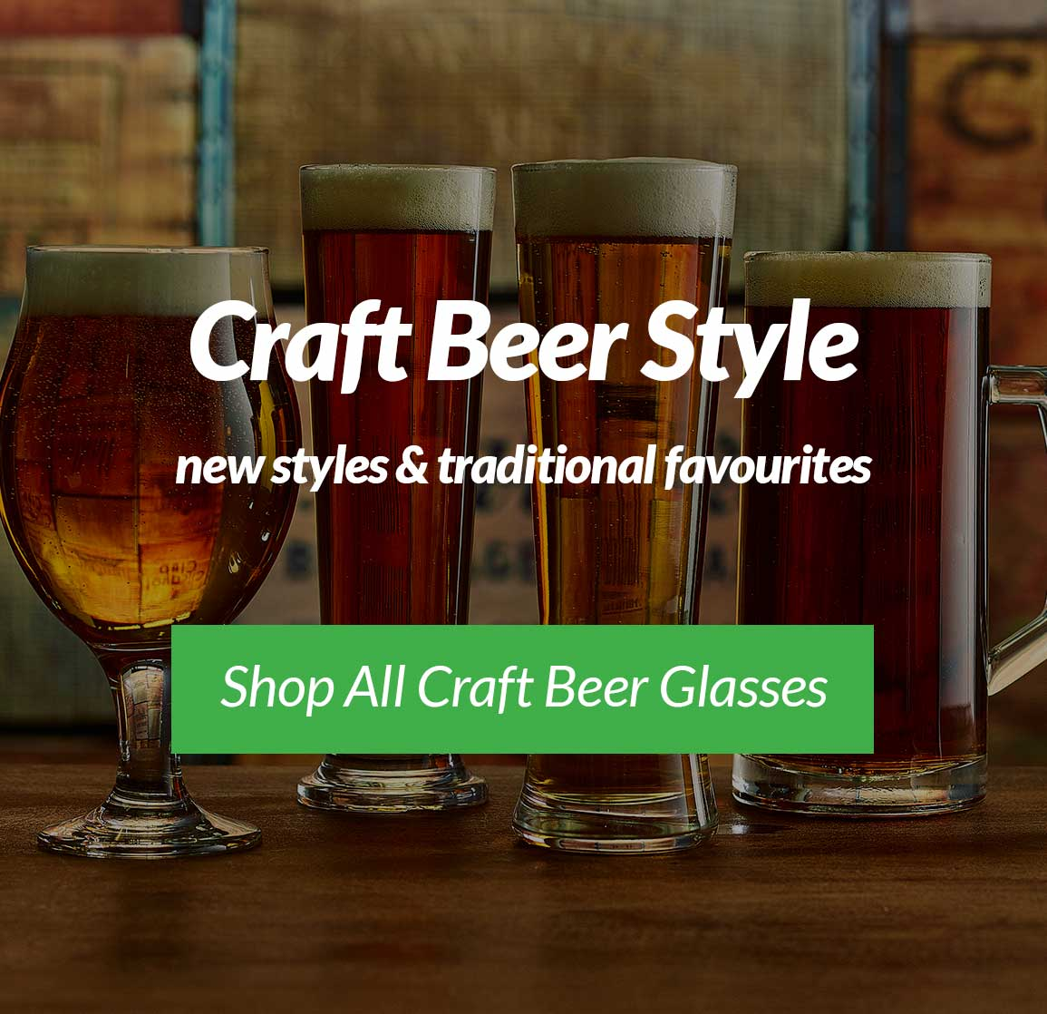 Beer and Lager Glasses