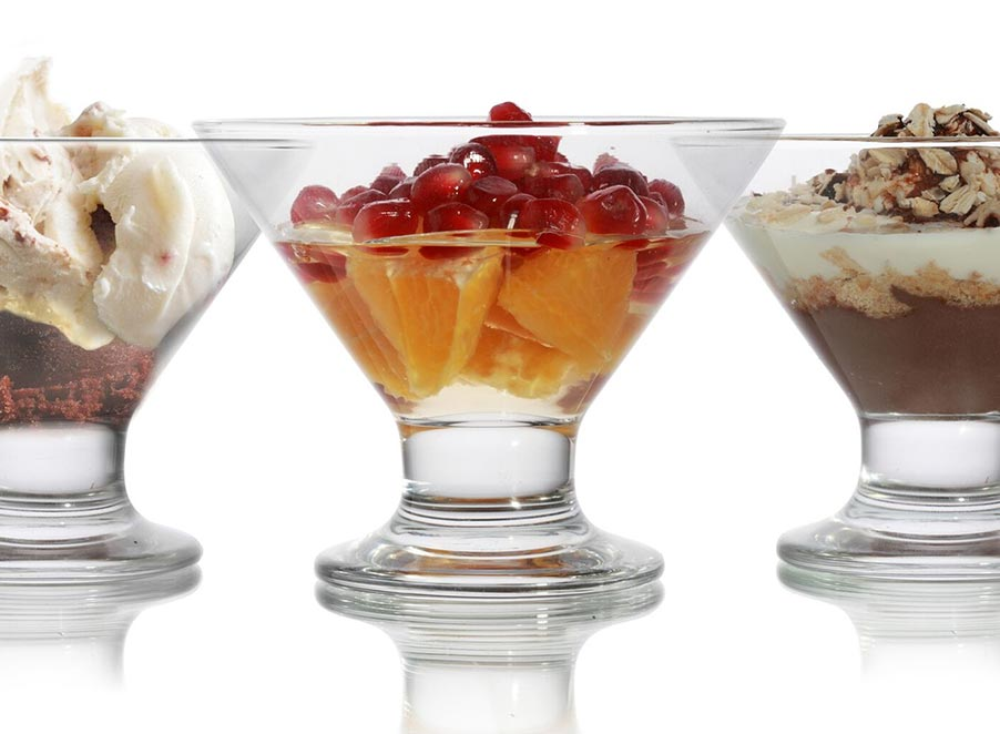 Dessert & Sundae Dishes