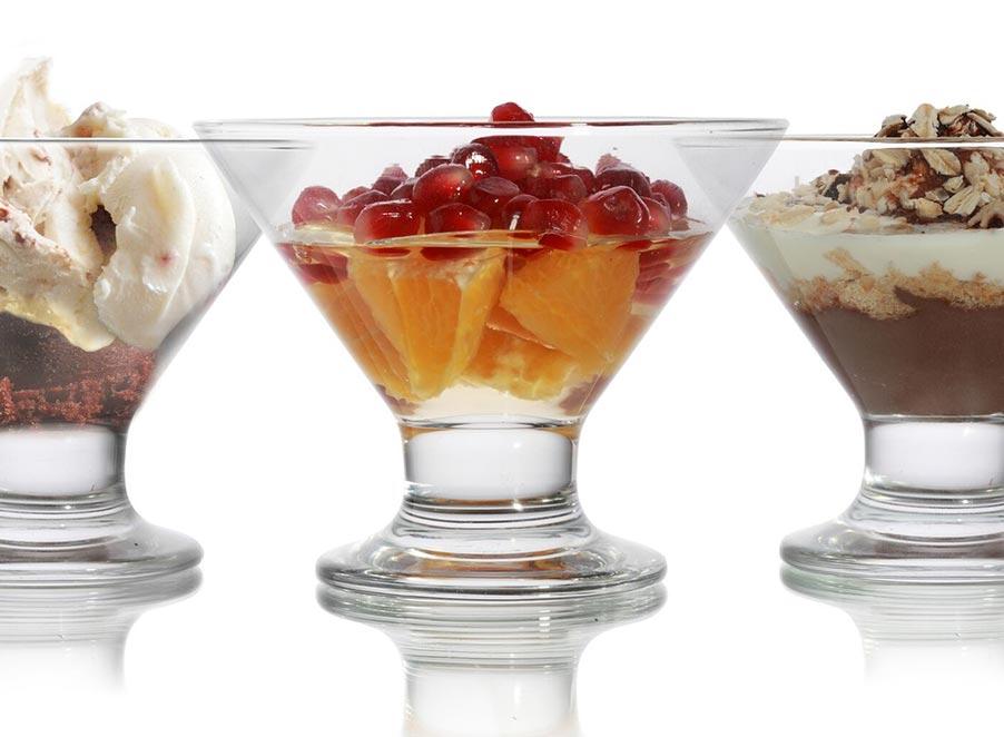 Dessert & Sundae Dishes