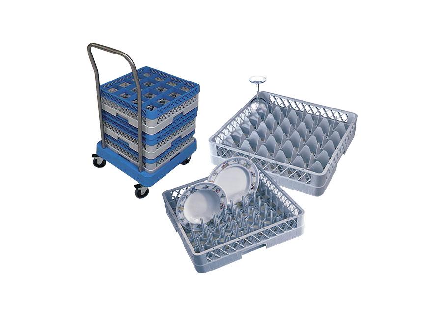 Glass & Plate Storage
