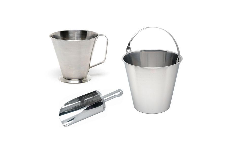Measuring Jugs, Buckets & Scoops