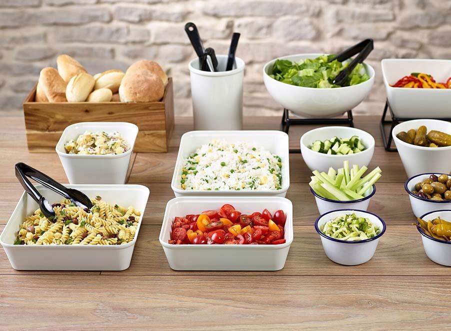Melamine Bowls & Dishes