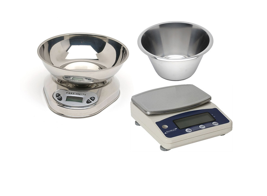 Mixing Bowls & Scales