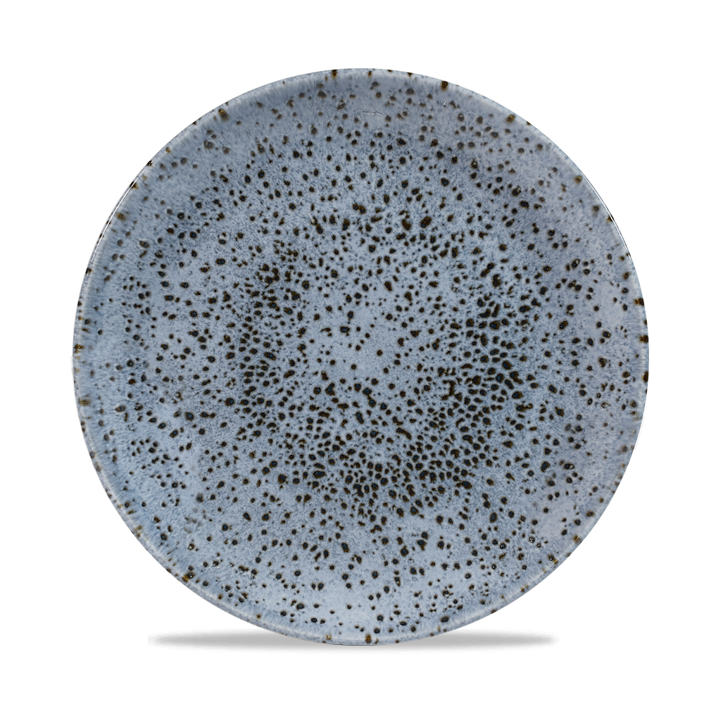 "Churchill Studio Prints Mineral Coupe Plate Mineral Blue 21.7cm-8.5"""