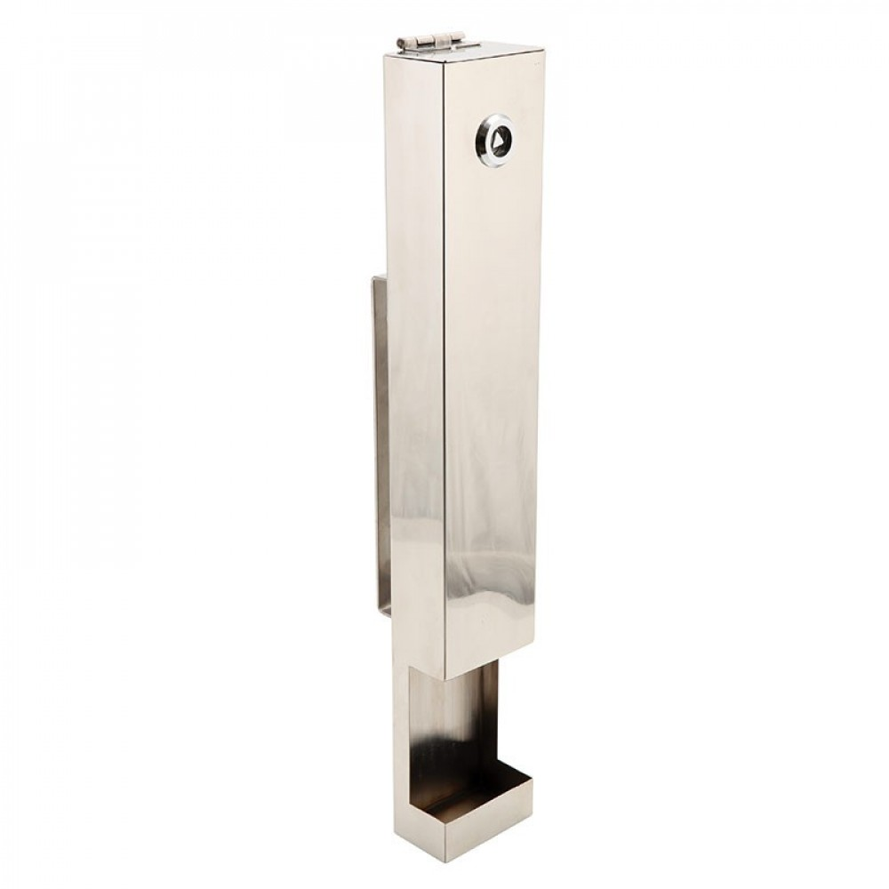 Genware Stainless Steel Contemporary Wall Mounted Ashtray
