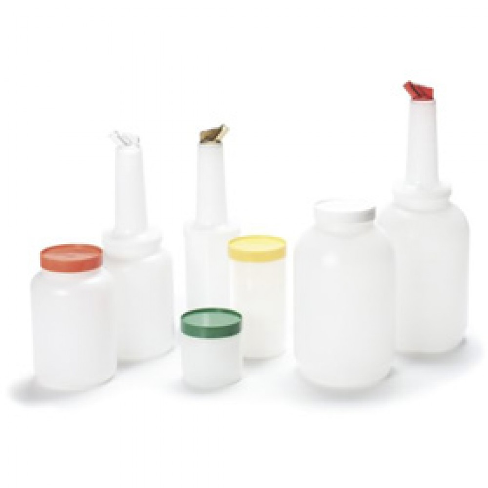 Genware Store & Pour  1 Litre Capacity Yellow