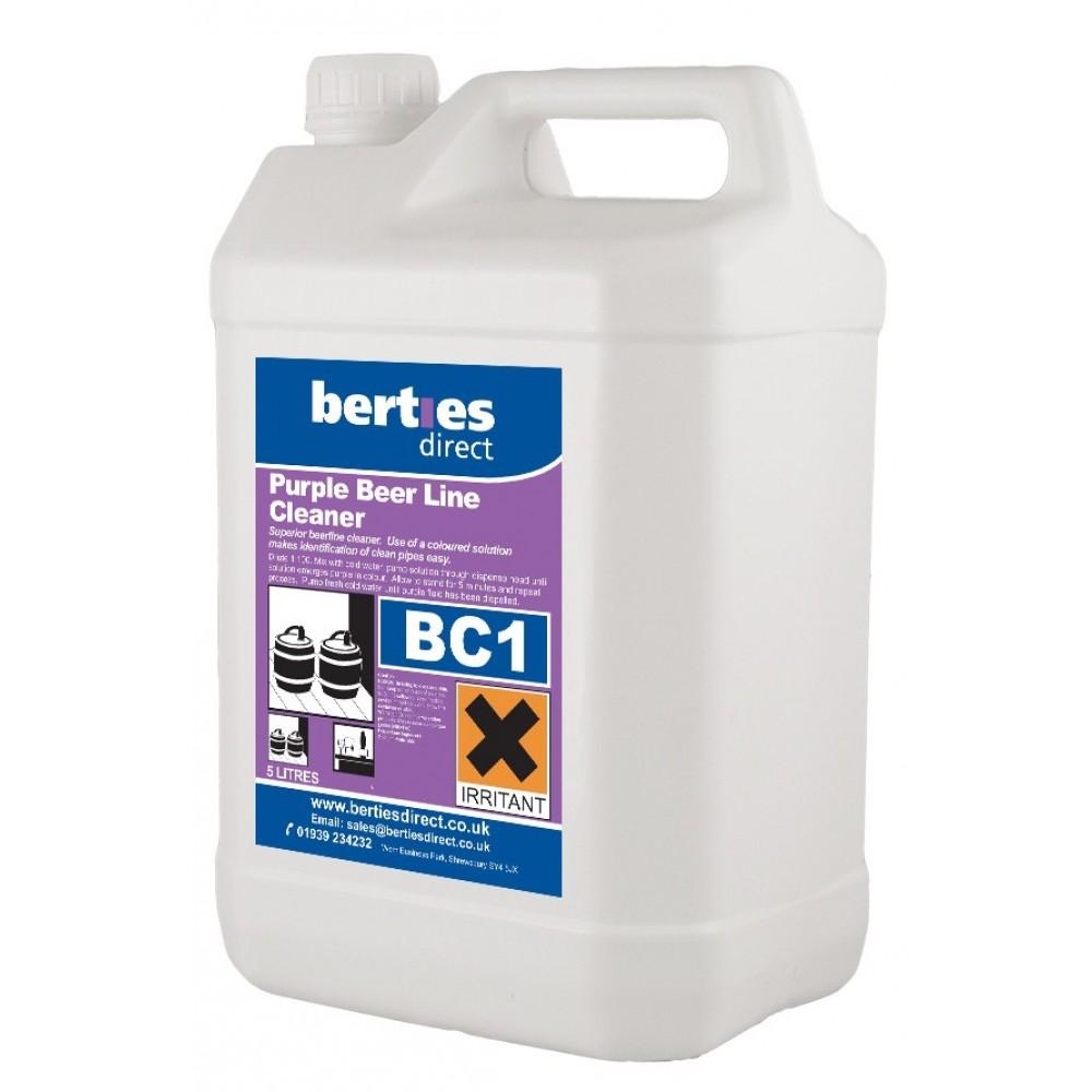 Berties BC1 Purple Beer Line Cleaner