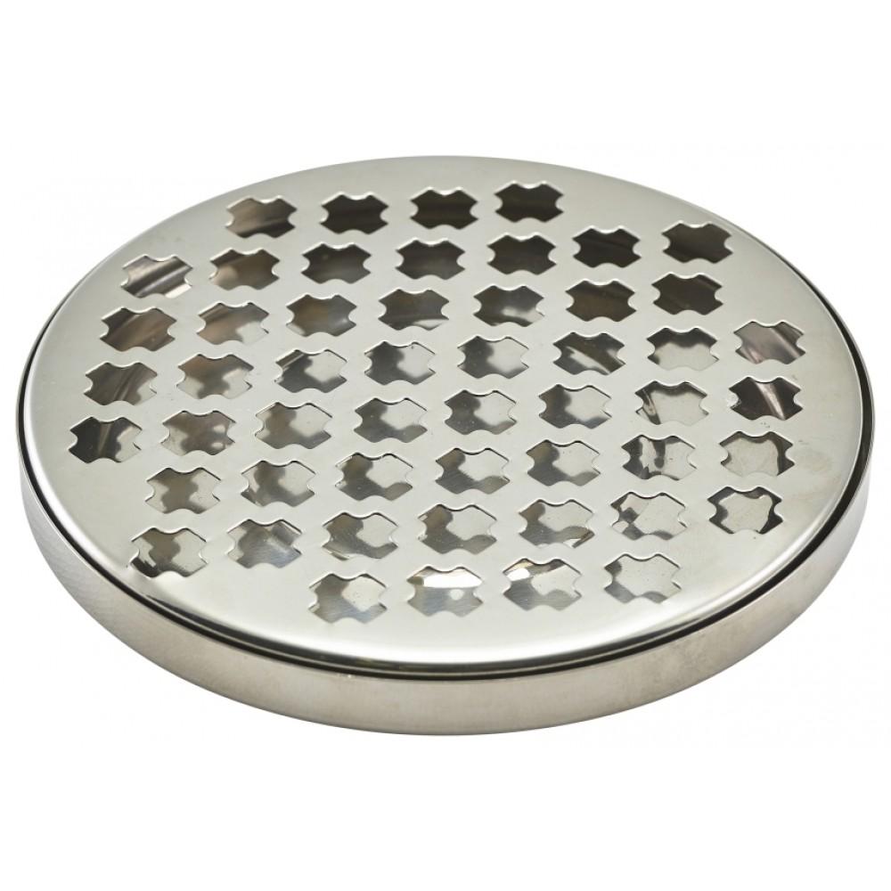Berties Stainless Steel Round Drip Tray 14cm Diameter