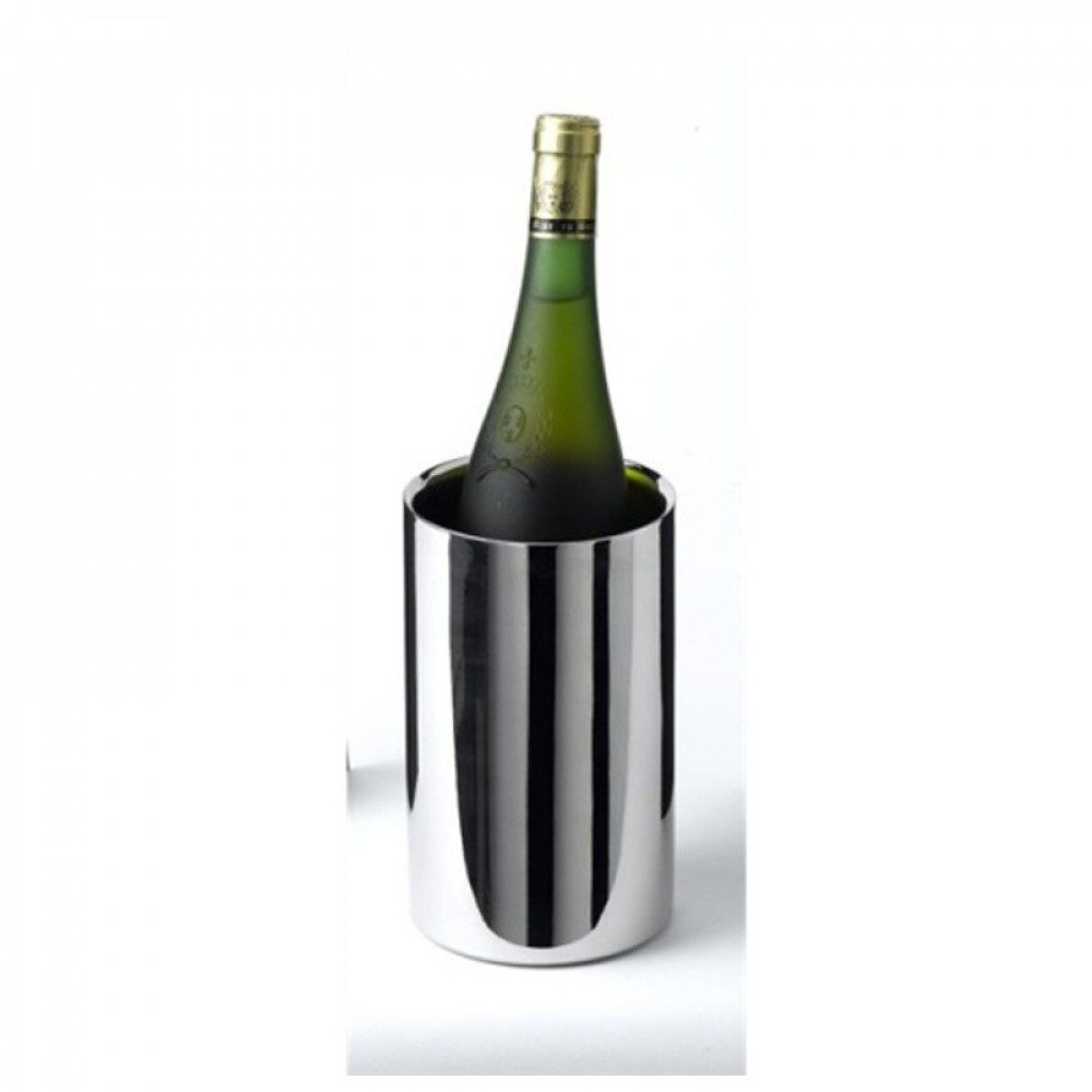 Genware Stainless Steel Polished Wine Cooler 12cm Diameter