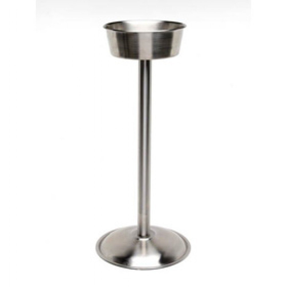 Genware Stainless Steel Wine Bucket Stand 56x25cm