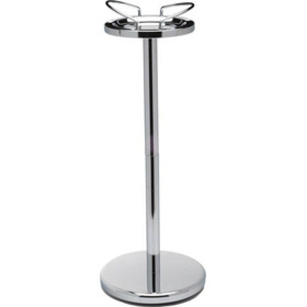 Genware Chrome Wine Bucket Stand 68x26cm