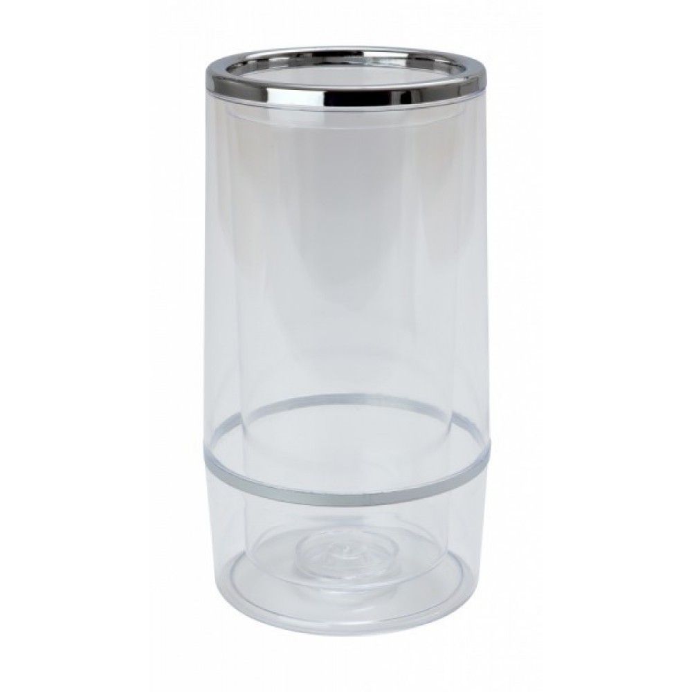 Genware Wine Bottle Cooler Clear 22.7x11.5cm