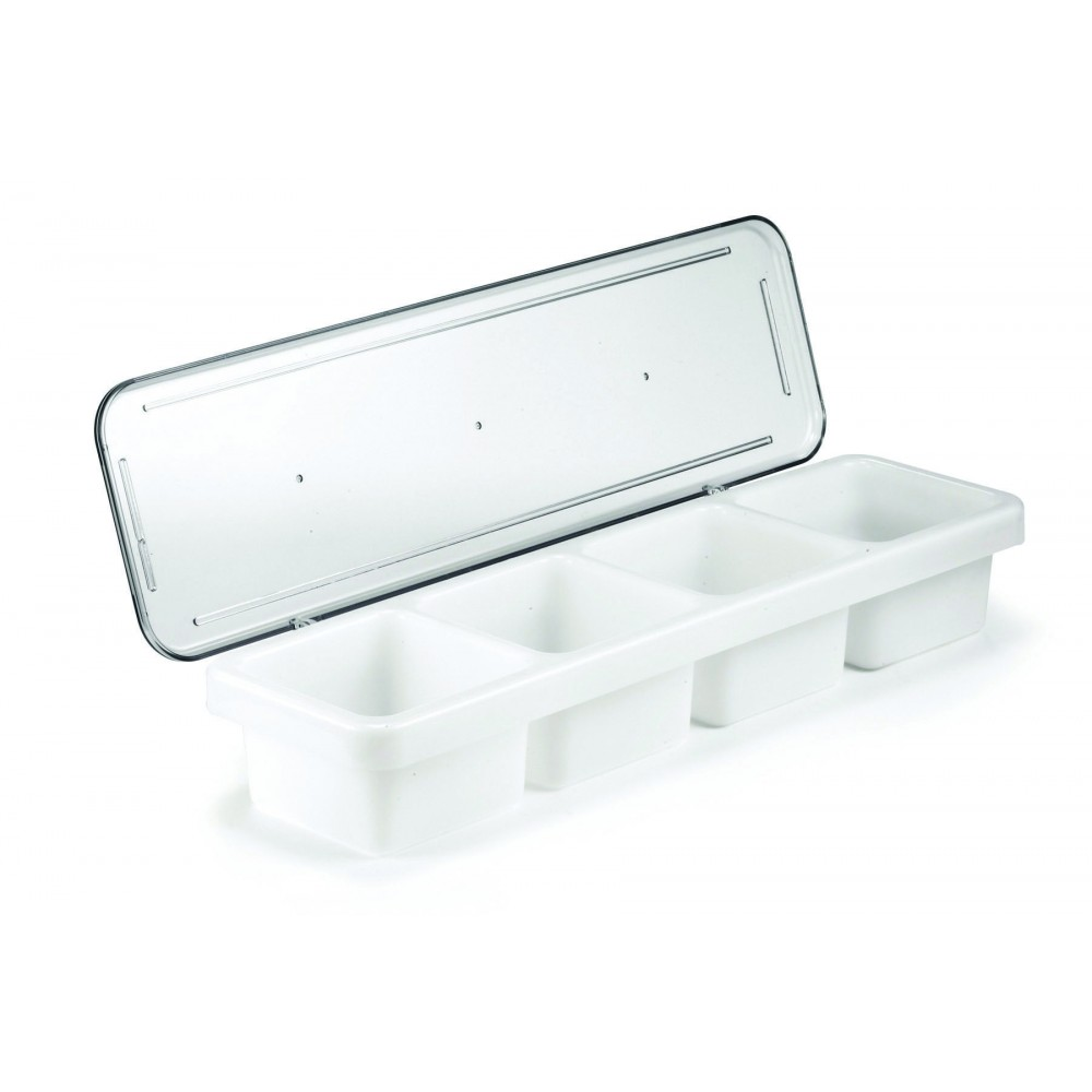 Berties Plastic Condiment Holder 4 Compartment 18""