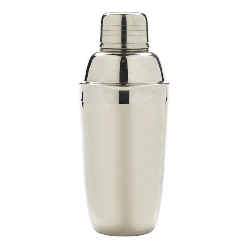 Berties Stainless Steel Cocktail Shaker 23cl/8oz