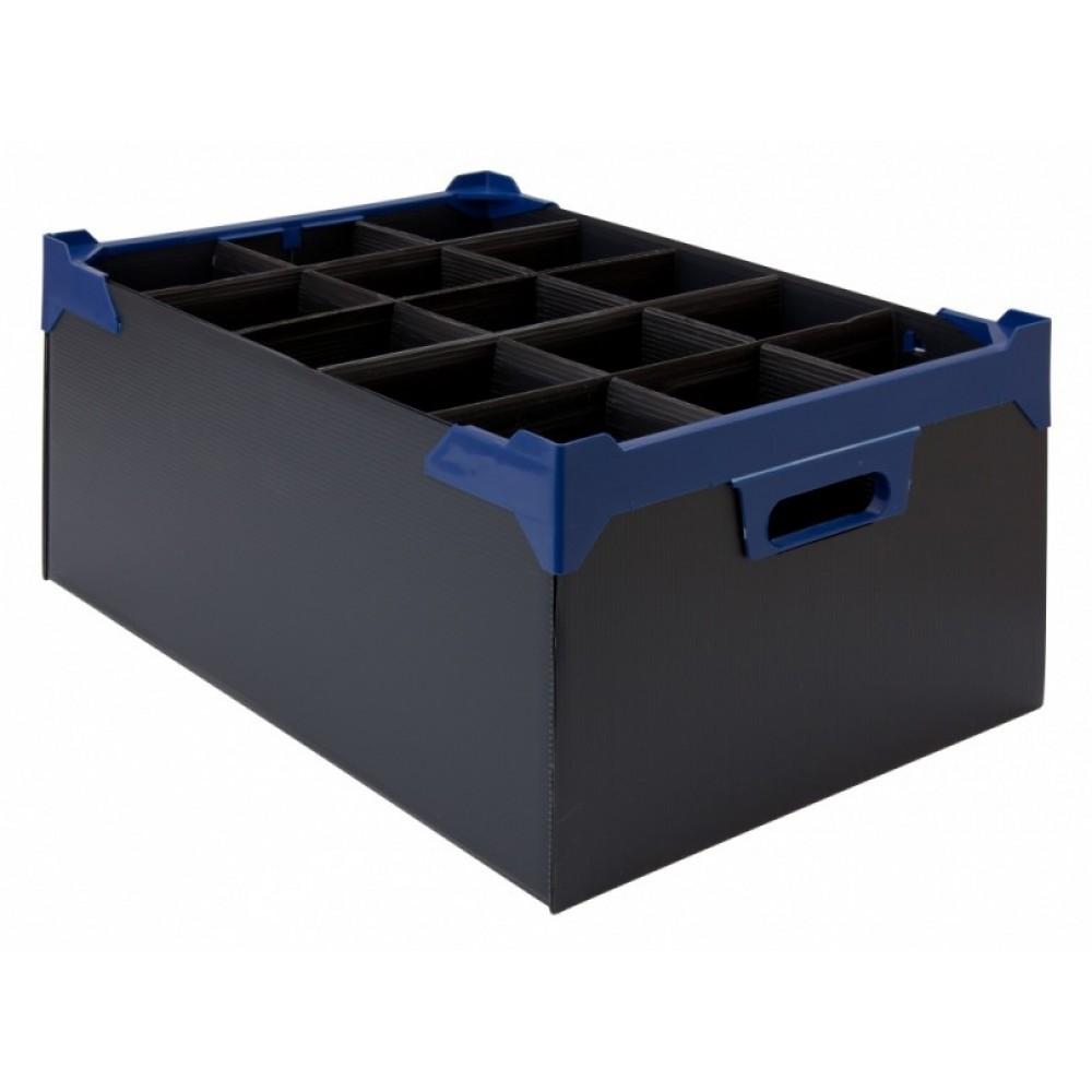 Berties Glass Storage Box 15 Slot 20oz