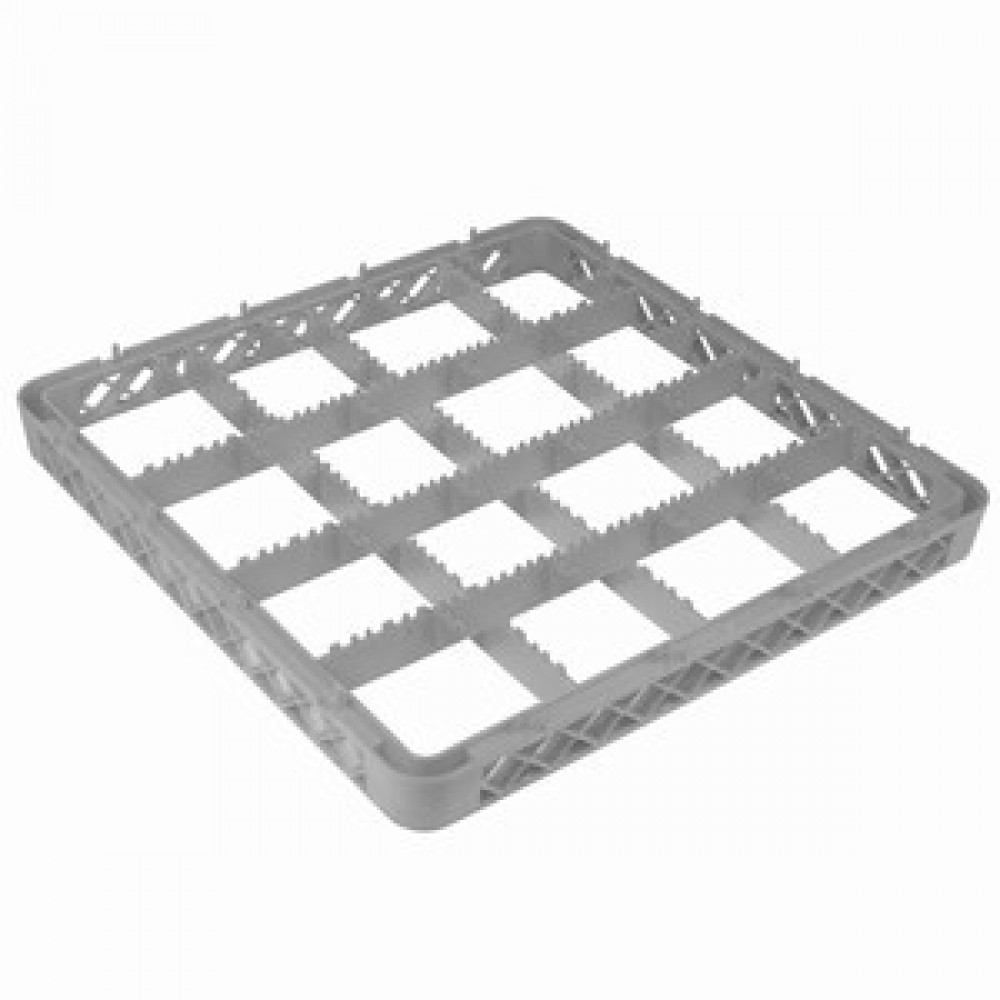 Genware Glass Rack Extender 16 Compartment
