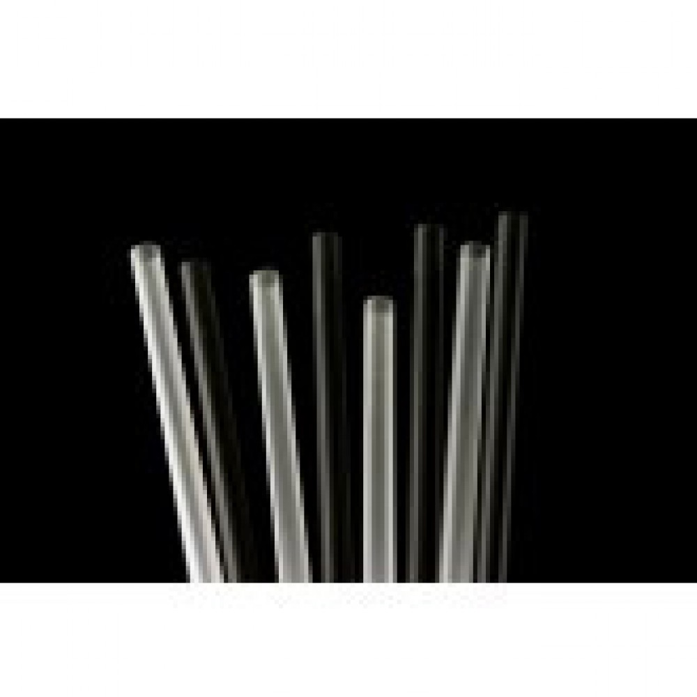 "Berties Memphis Slim Cocktail Straw 5.25"" Black"