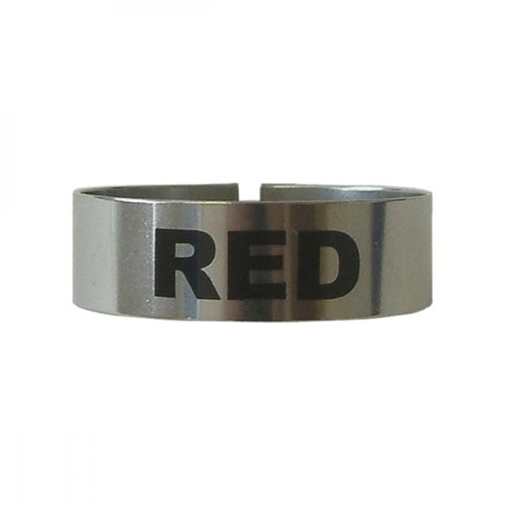Berties Thimble Measure Identification Clip Red Wine