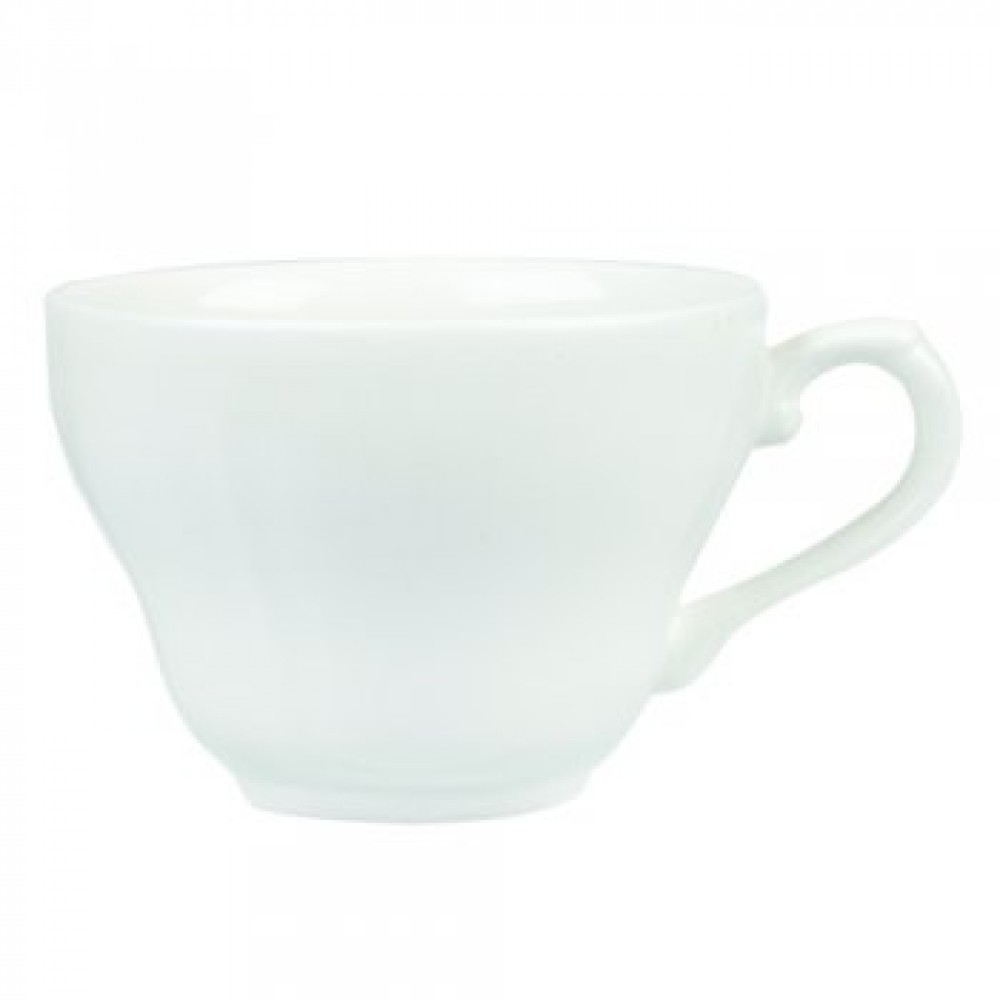 Churchill Vintage Georgian White Teacup 20cl/7oz