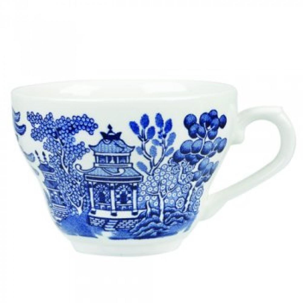 Churchill Vintage Georgian Blue Willow Teacup 20cl/7oz