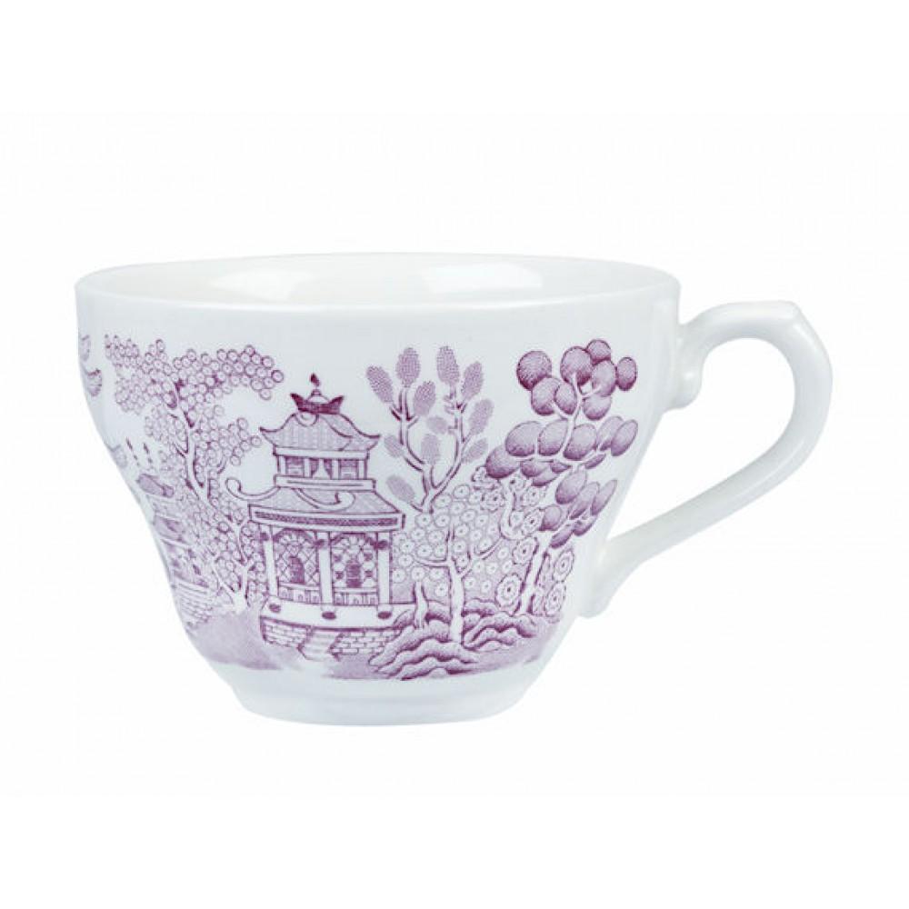 Churchill Vintage Georgian Teacup Cranberry Willow 20cl/7oz