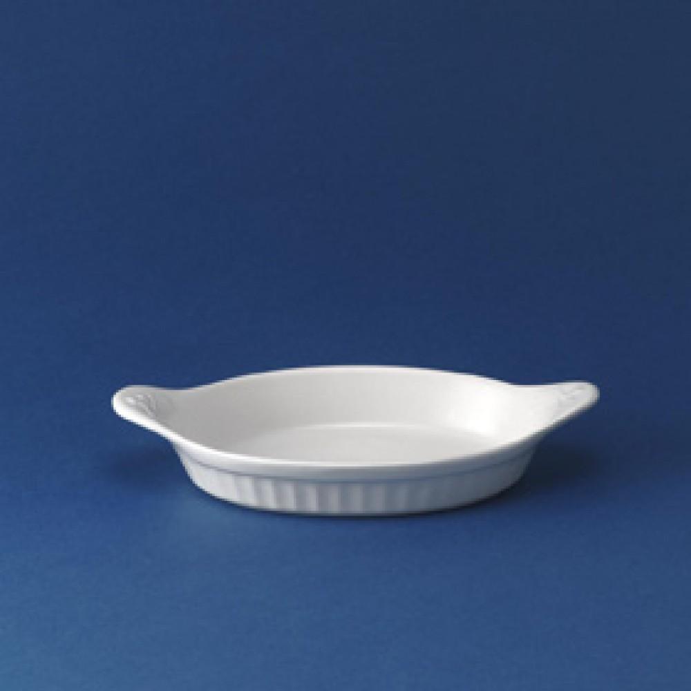 "Churchill Round Eared Dish Large 17.5cm/6.9"""