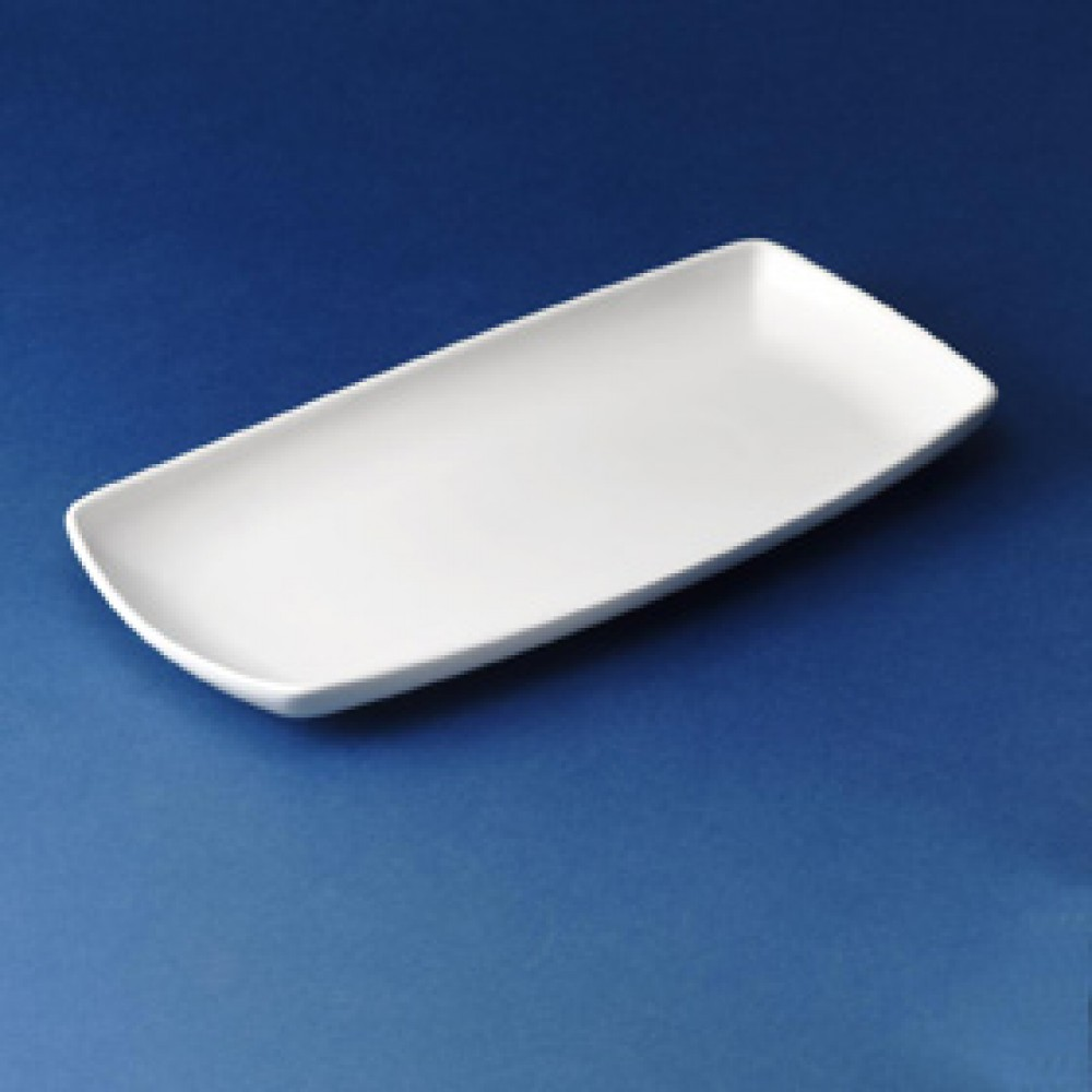 "Churchill X Squared Oblong Plate 29.5x15cm/11.75x6"""