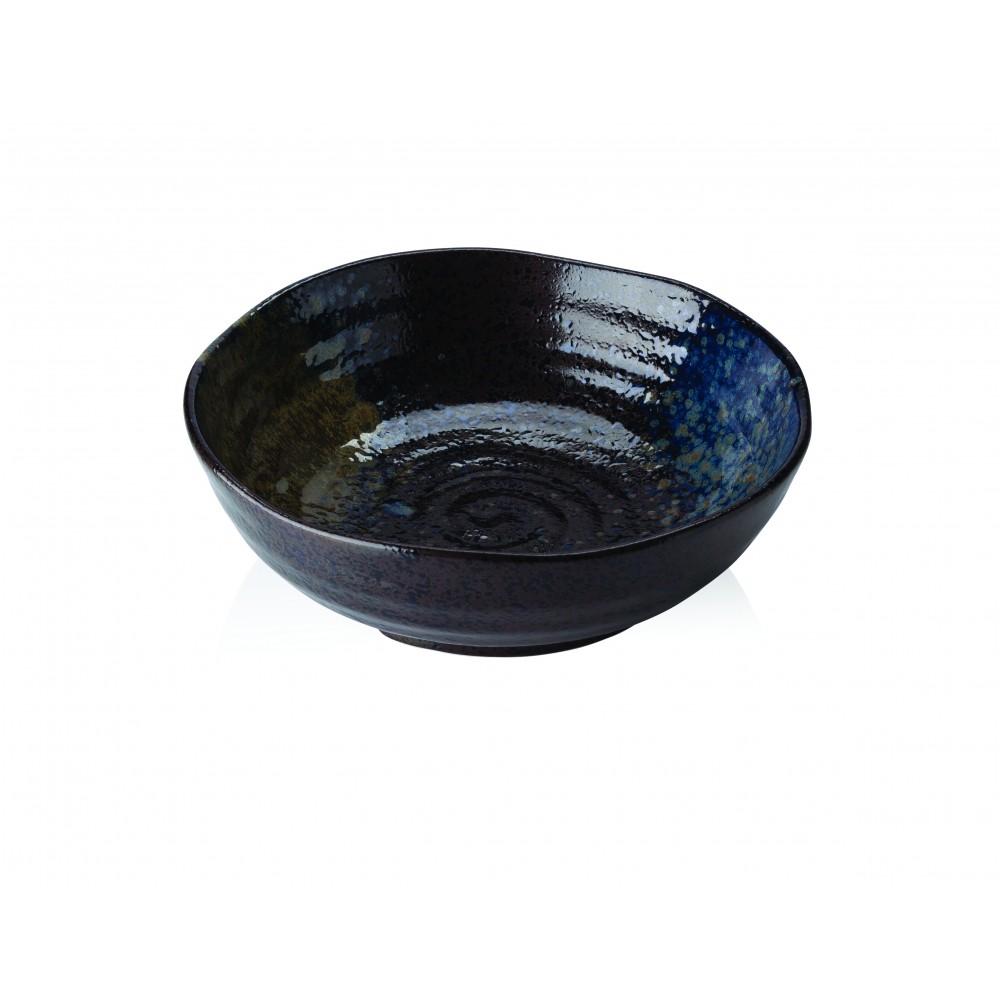 "Heritage Stoneware Strata Patina Bowl 16.7cm-6.5"""