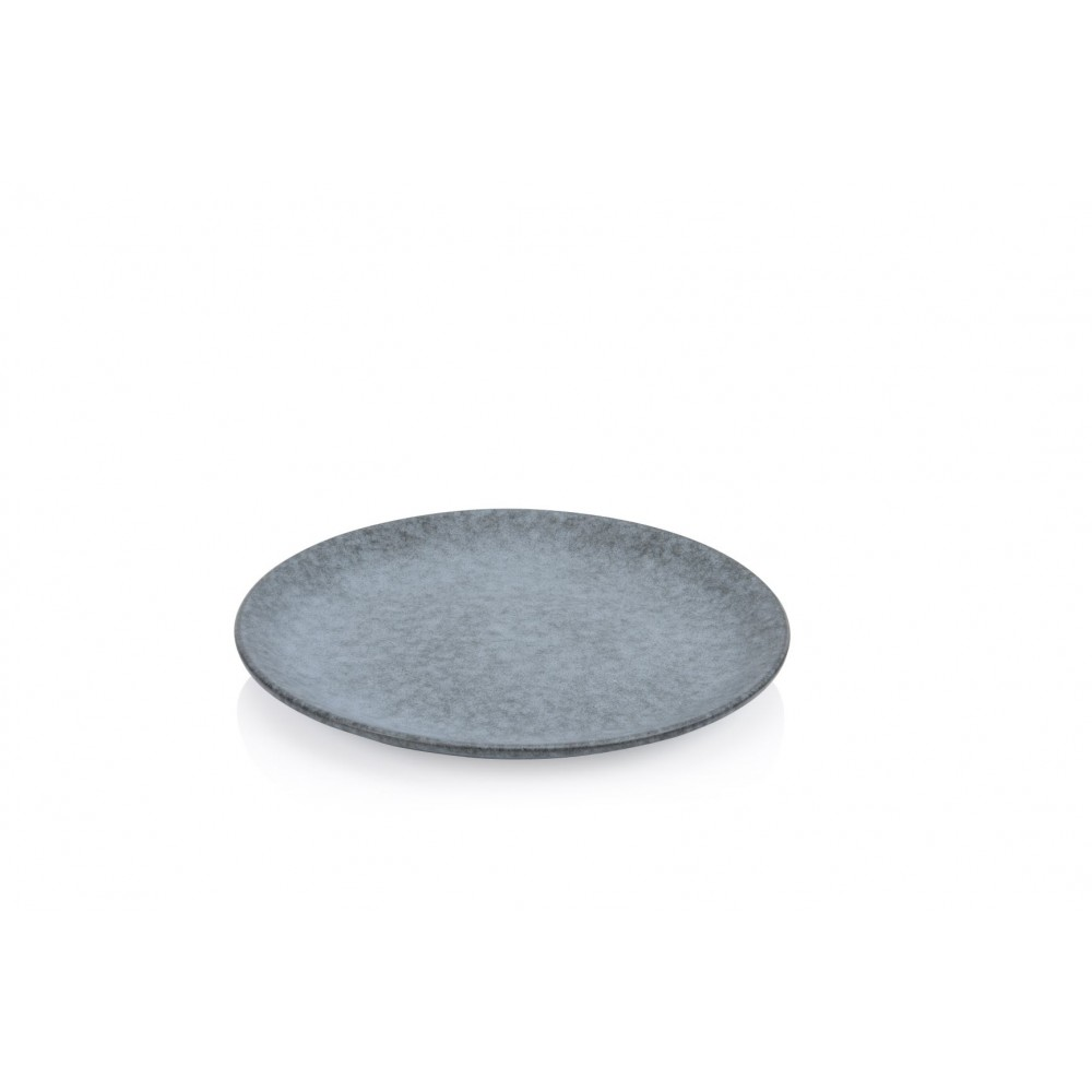 "Heritage Stoneware Strata Stone Coupe Plate 30.5cm-12"""