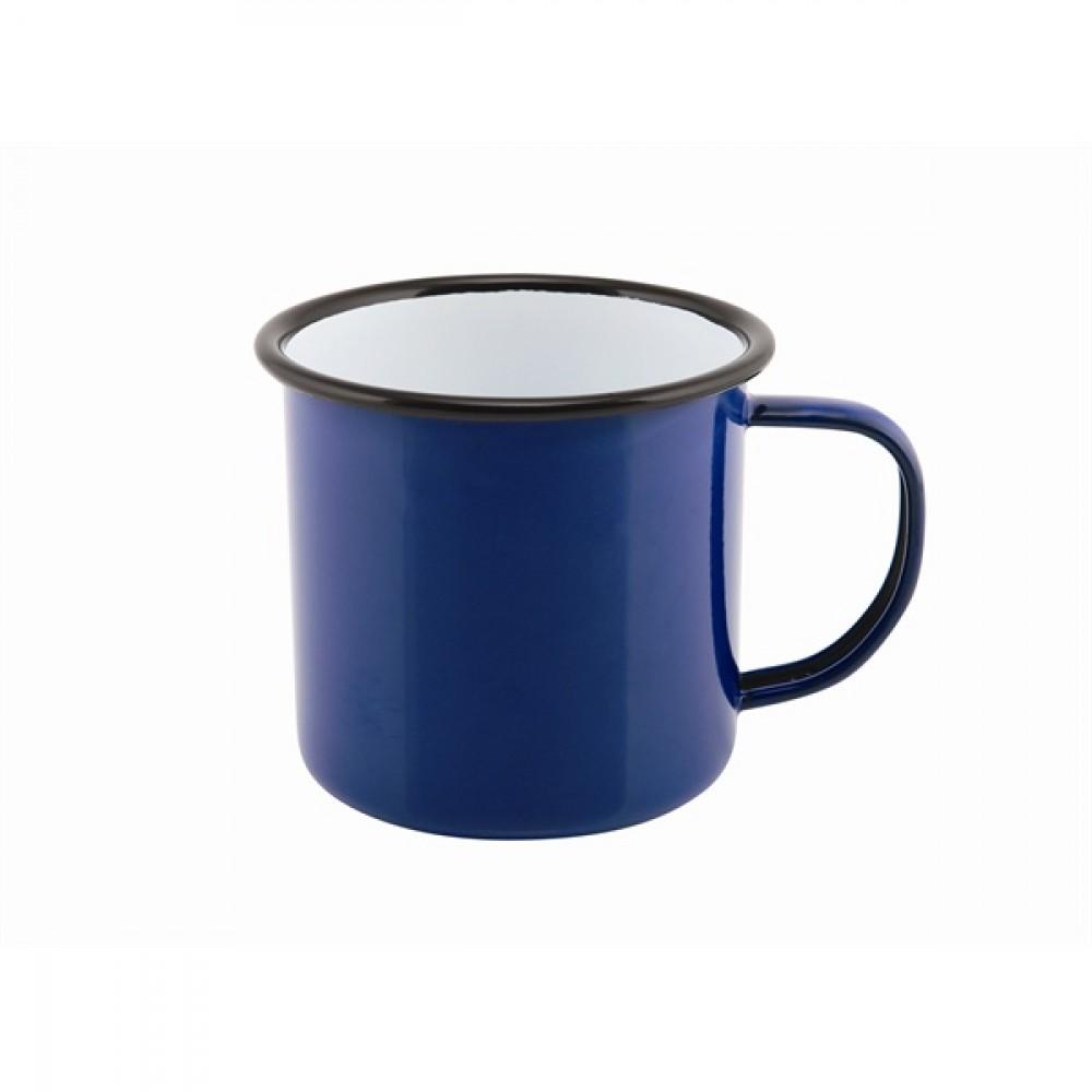 Berties Enamel Mug Blue 36cl-12.5oz