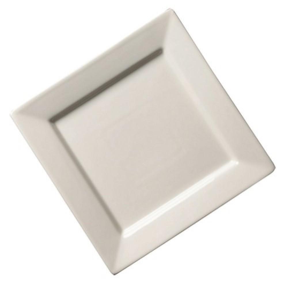 """Genware Fine China Square Plate 21cm/8.25"""""""