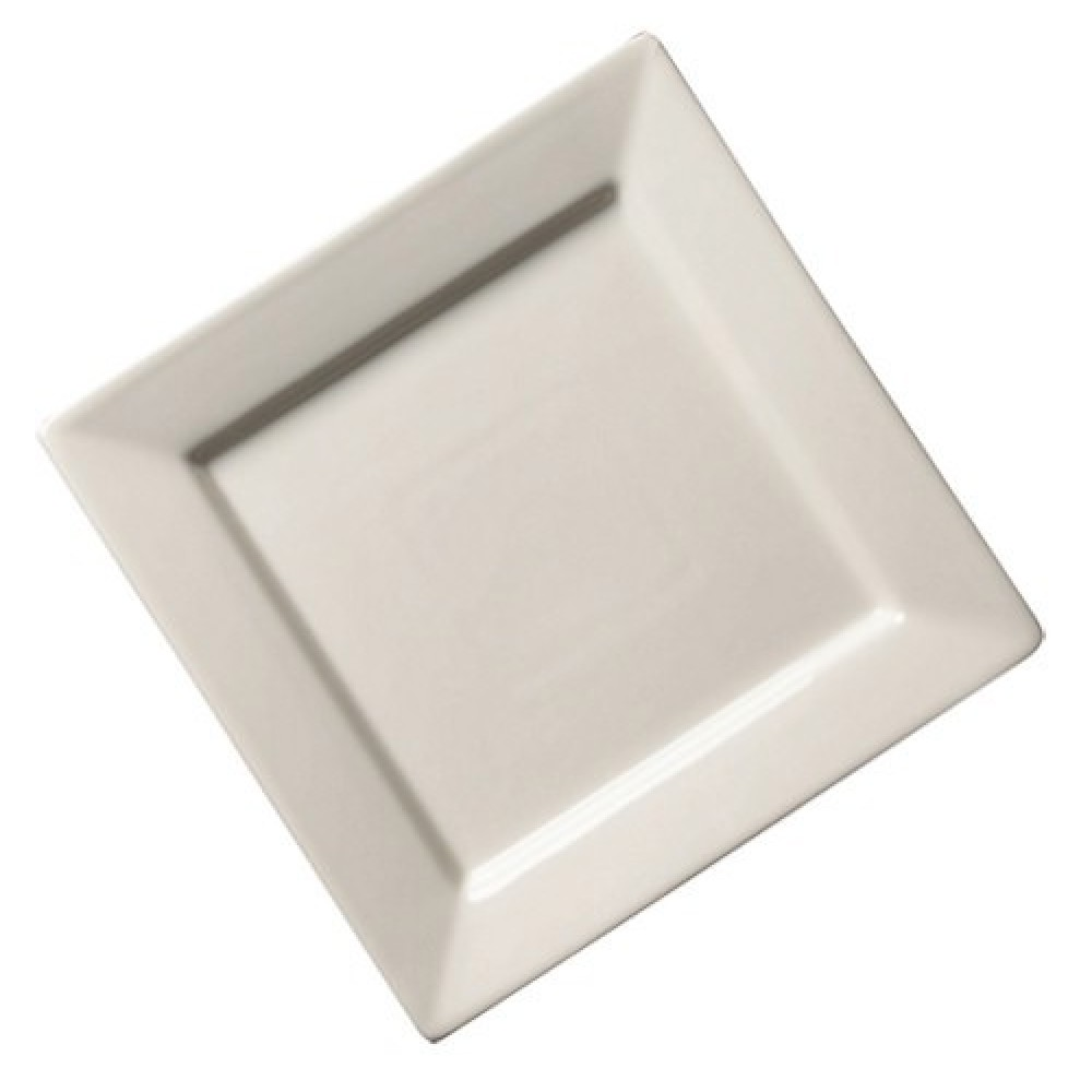 Genware Fine China Square Plate 24cm/9.25""