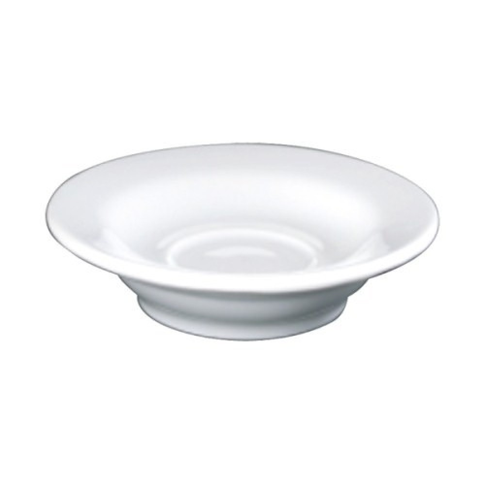 Genware Fine China Saucer for 9cl/3oz Bowl Shaped Cup