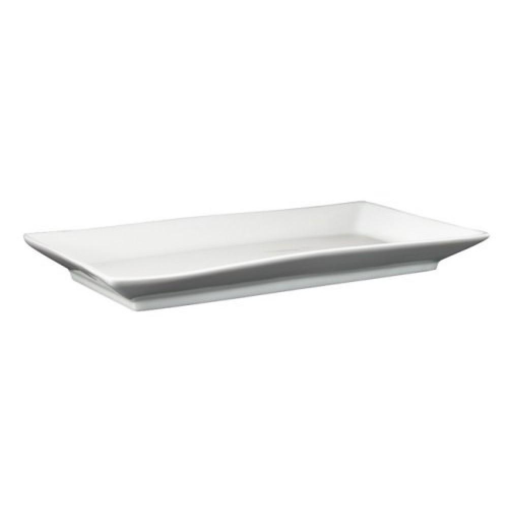 """Genware Fine China Rectangular Dish 18x7.5cm/7x3.5"""""""