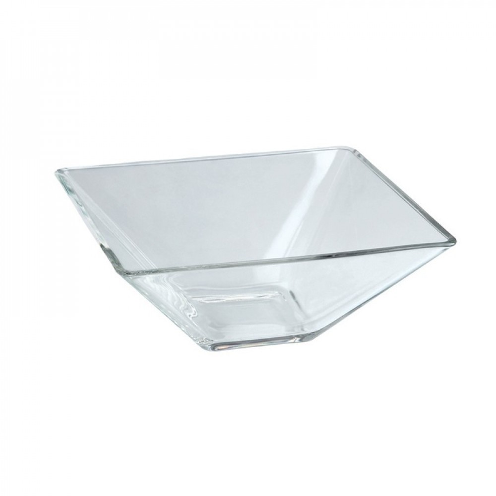 Berties Glass Square Bowl 8x4.5cm