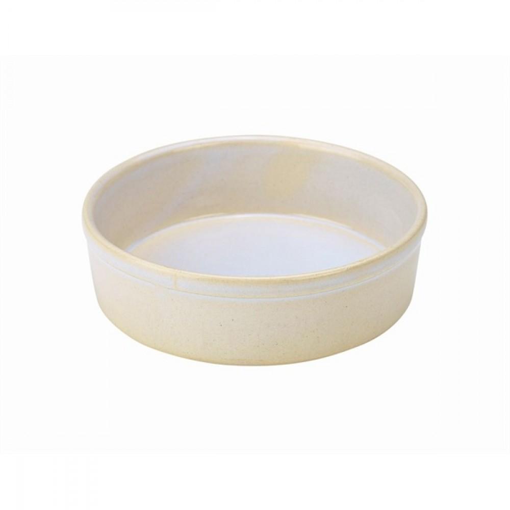 """Terra Stoneware Tapas Dish White 14.5cm-5.7"""""""
