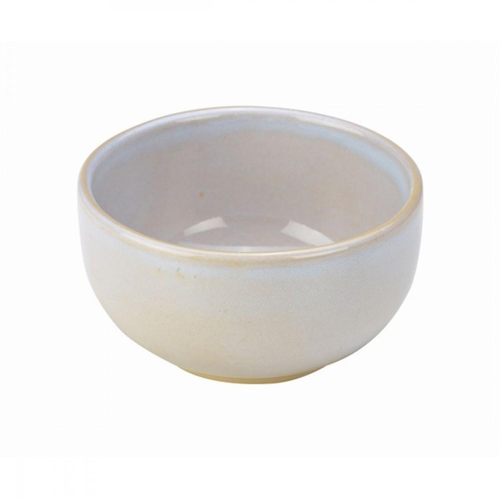 """Terra Stoneware Round Bowl White 12.5cm-4.9"""""""