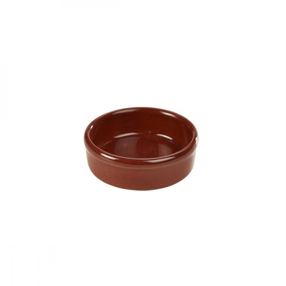 "Terra Stoneware Tapas Dish Red 10cm-4"""