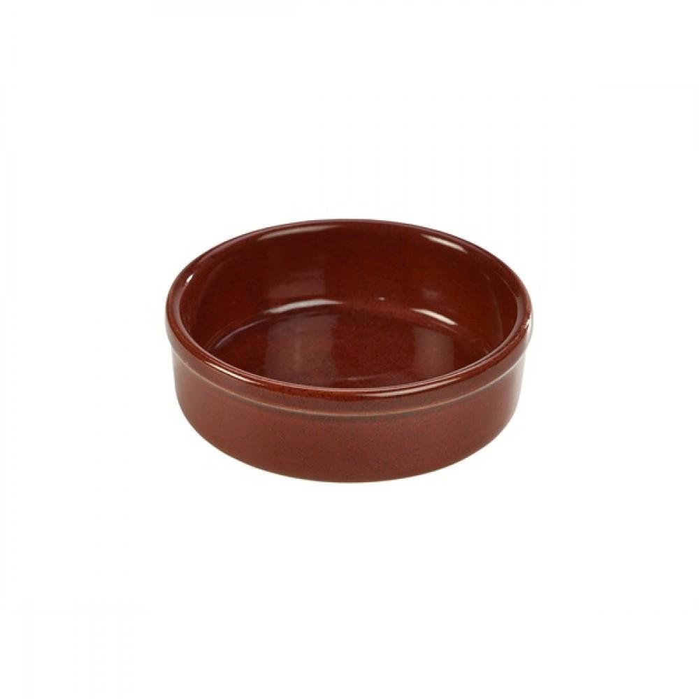 "Terra Stoneware Tapas Dish Red 14.5cm-5.7"""