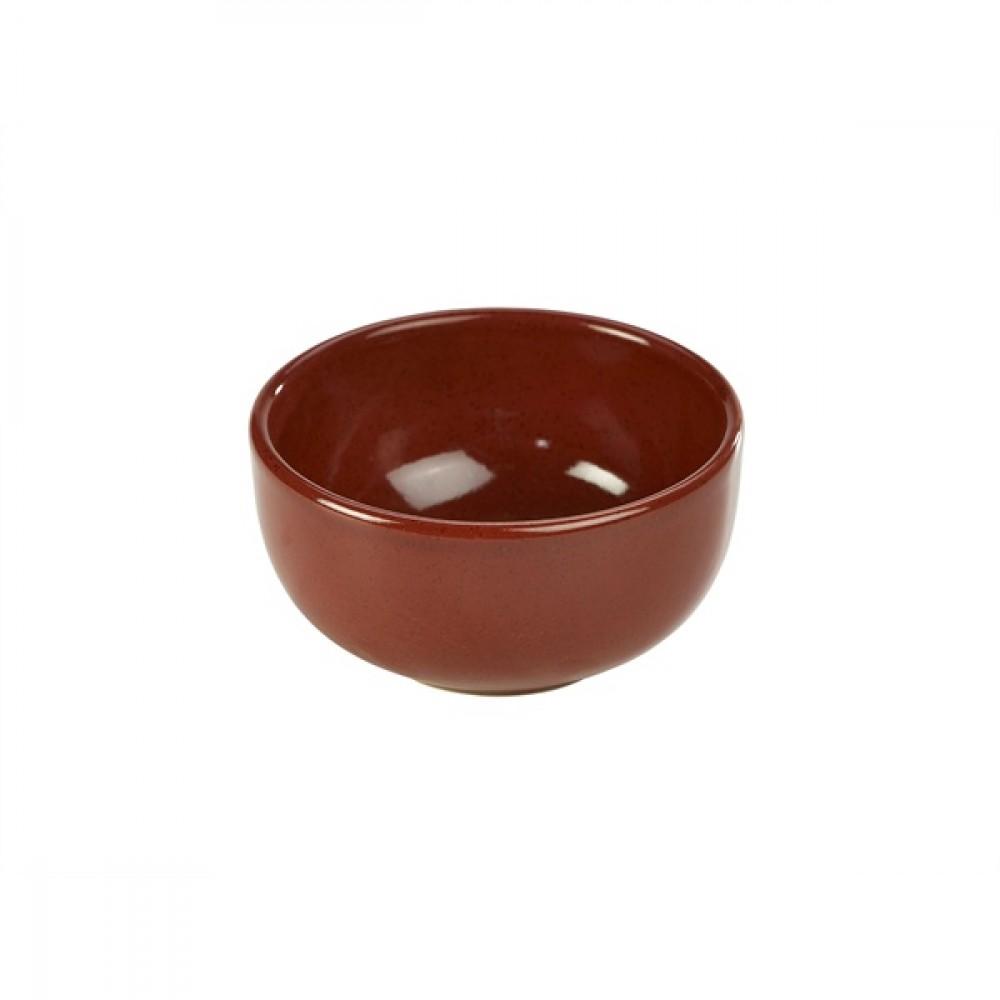"Terra Stoneware Round Bowl Red 11.5cm-4.5"""