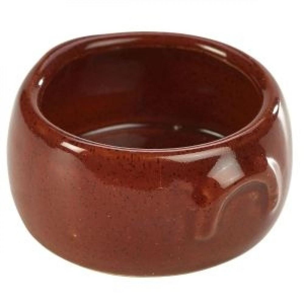 Terra Stoneware Butter Pot Red 9cl-3oz