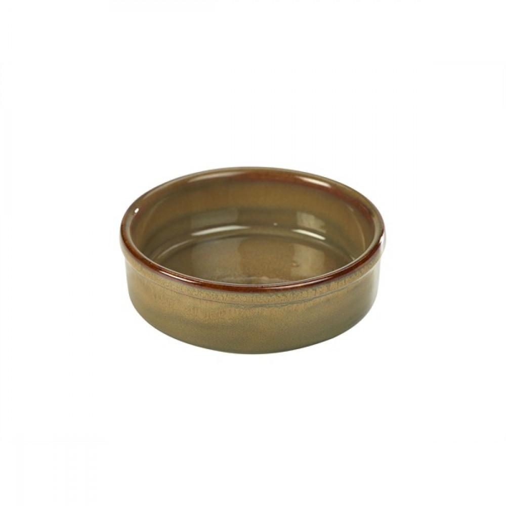 "Terra Stoneware Tapas Dish Brown 14.5cm-5.7"""