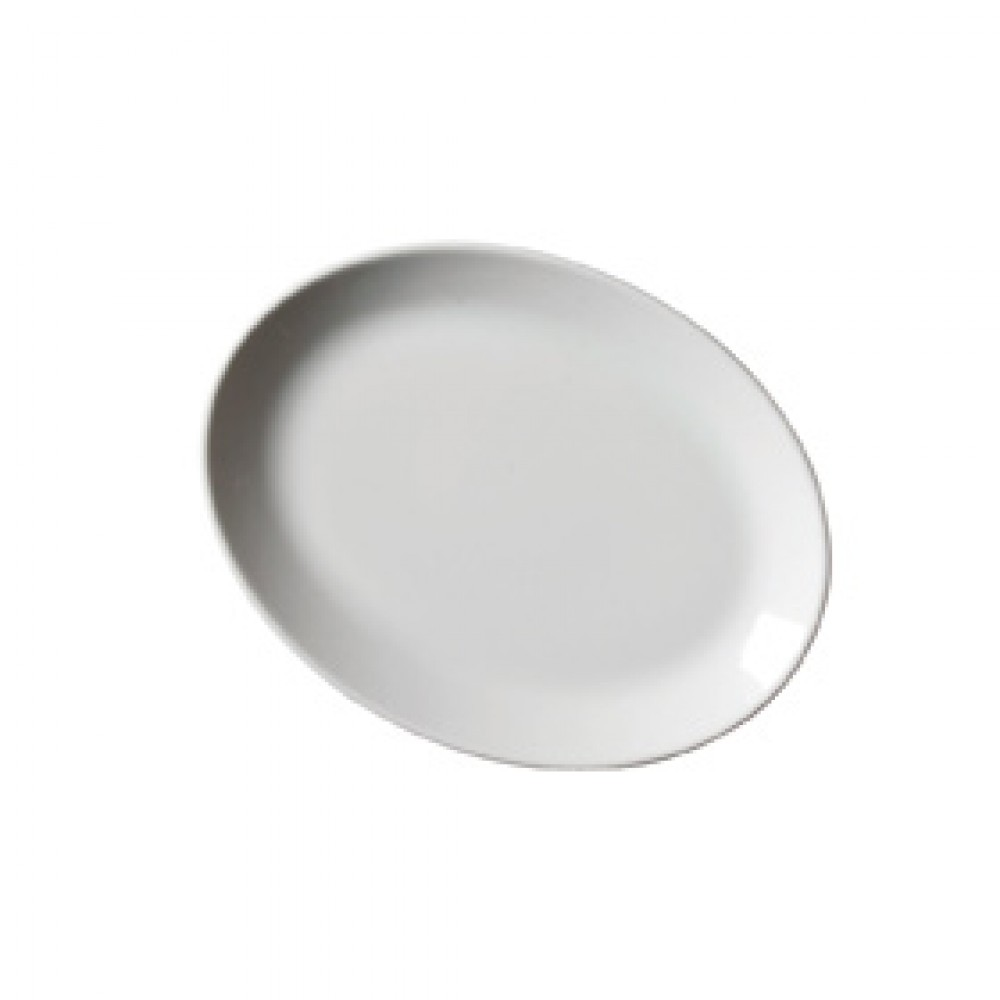 "Genware Oval Plate 31cm/12.25"""