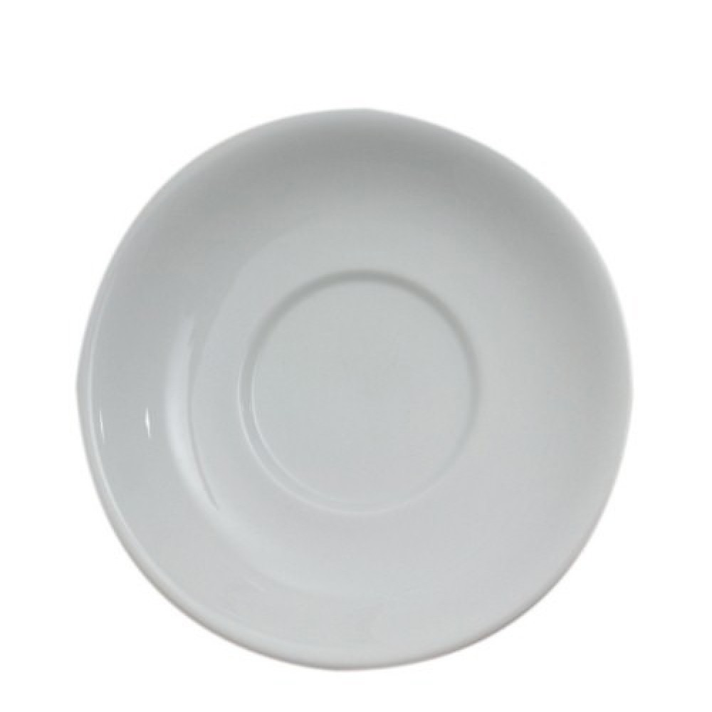 "Genware Saucer 17cm-6.7"" for Bowl Shaped Cup 14-16oz"