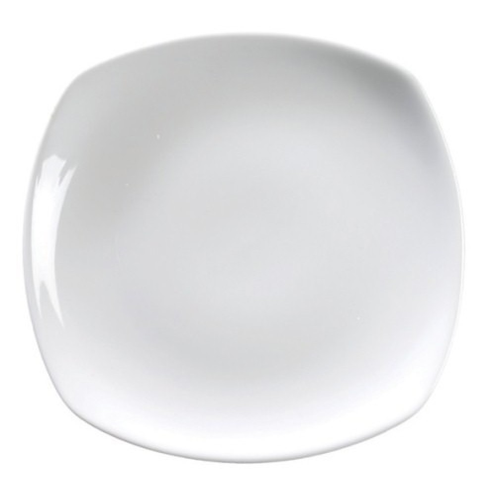 """Genware Rounded Square Plate 17cm/6.5"""""""