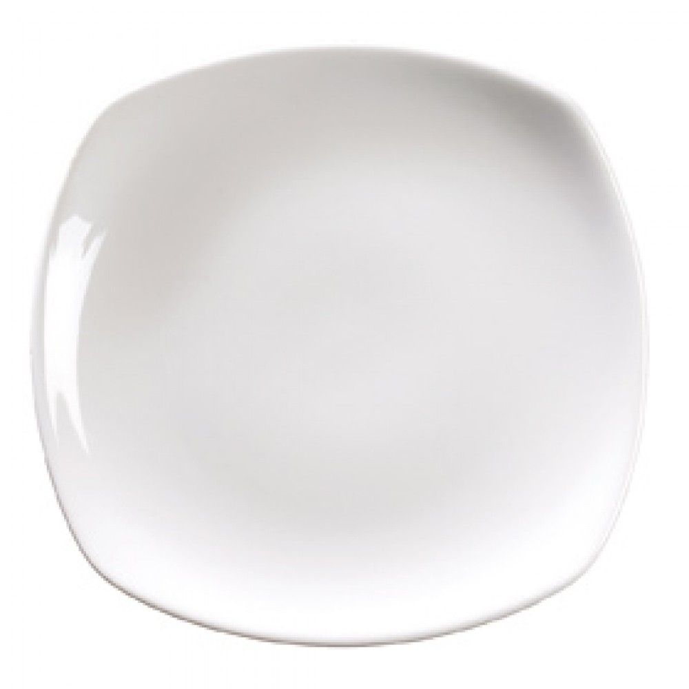 """Genware Rounded Square Plate 27cm/10.5"""""""