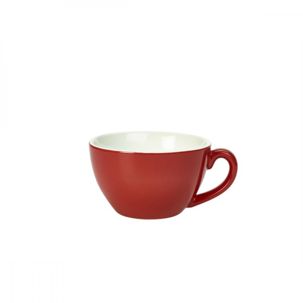 Genware Bowl Shaped Cup Red 34cl-12oz