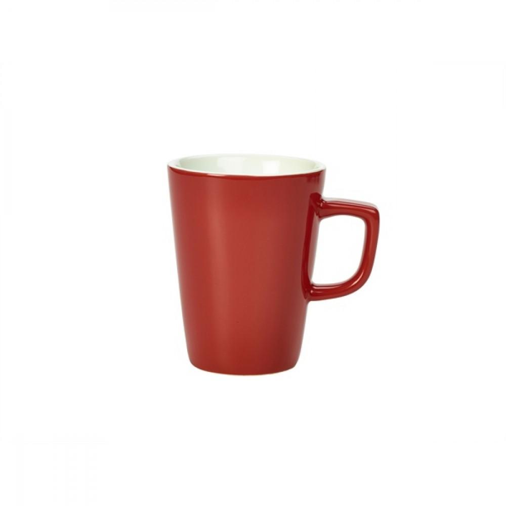 Genware Latte Mug Red 34cl-12oz