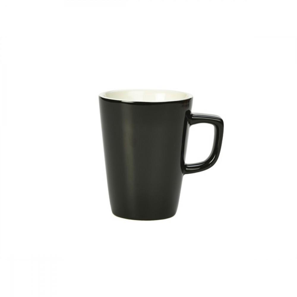 Genware Latte Mug Black 34cl-12oz